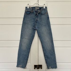 Levi's Premium Wedgie Denim